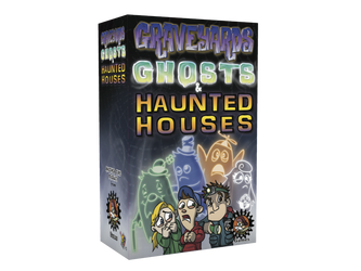 Cover - Graveyards Ghosts and Haunted Houses by GrantWilson