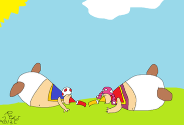 Weight Gain on ToadToadetteinflate - DeviantArt