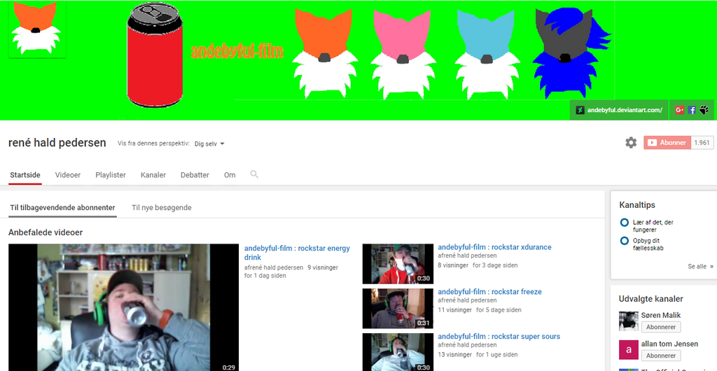 Andebyful Youtube by andebyful