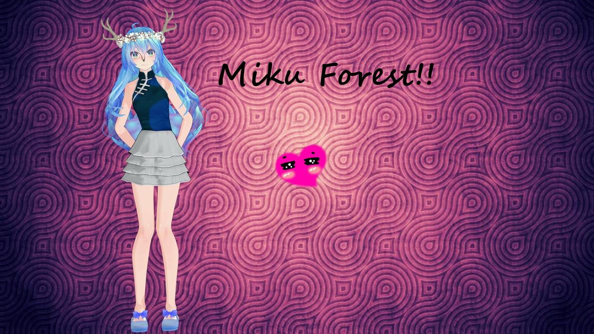 miku forest! 2 by nani7miku