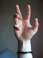 reaching out by Rhyn-Art