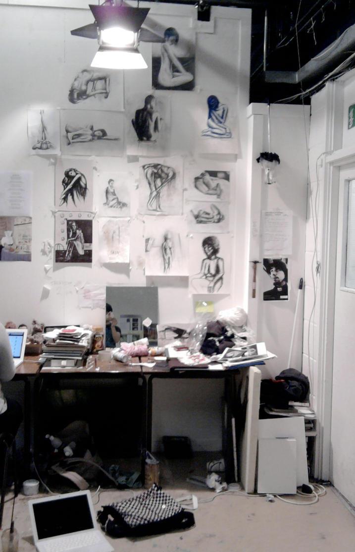 my workspace by RhynWilliams