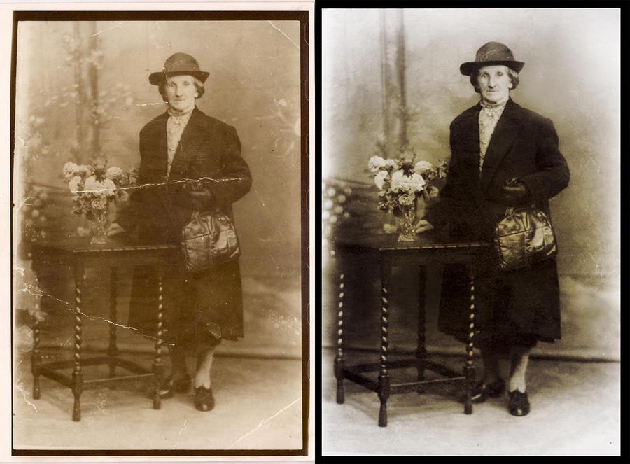 Photo Restoration by RhynWilliams