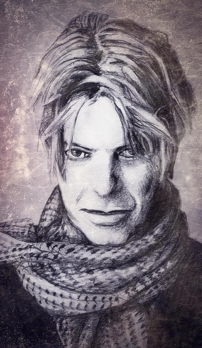 David Bowie by RhynWilliams