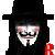 V for Vendetta by RhynWilliams