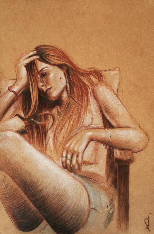 Mary by RhynWilliams