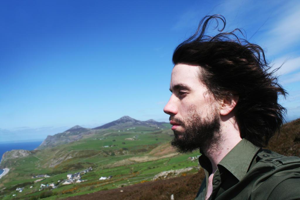Yr Eifl - Self portrait by RhynWilliams