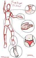 How to draw a body by Rhyn-Art