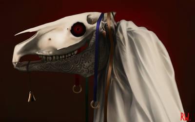 Mari Lwyd by Rhyn-Art