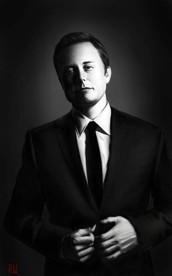 Elon Musk by Rhyn-Art