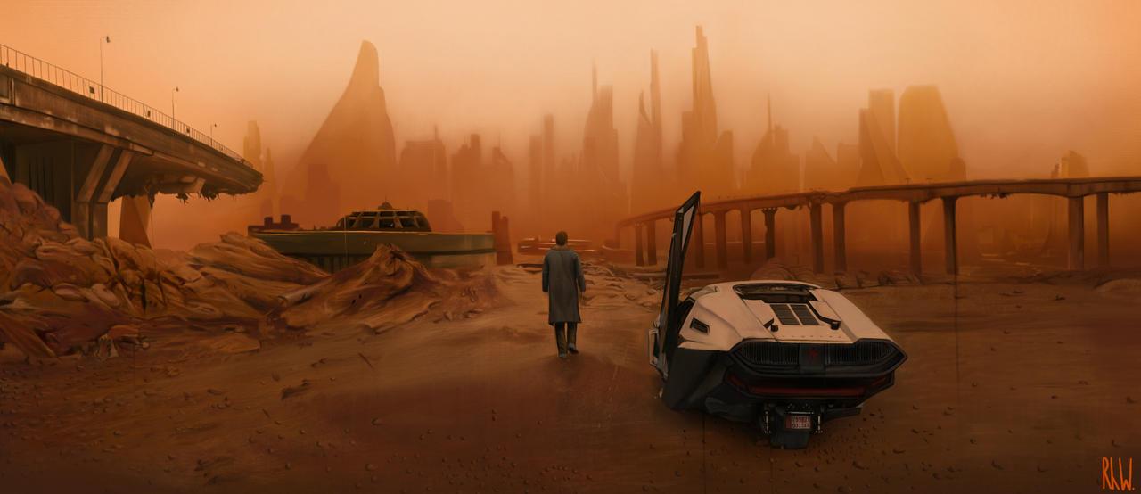Blade Runner drawing