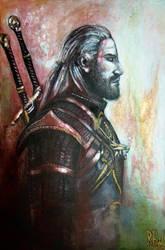 Geralt of Rivia by Rhyn-Art