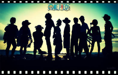 One Piece: Mugiwara Silhouette by eLLeDejaVu
