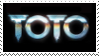 Toto stamp by Volyette