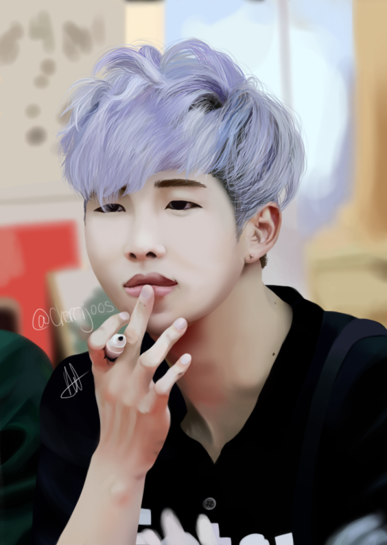 Bts Purple Rapmon By Silverishh On Deviantart