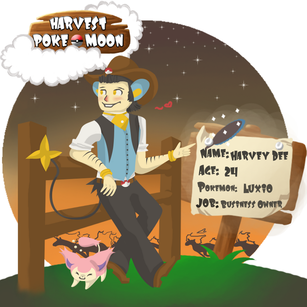 Harvest Pokemoon App:- Harvey by RockyDee
