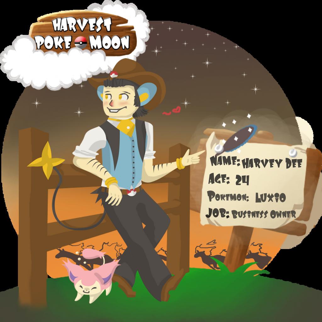 Harvest Pokemoon App:- Harvey by RockyDee