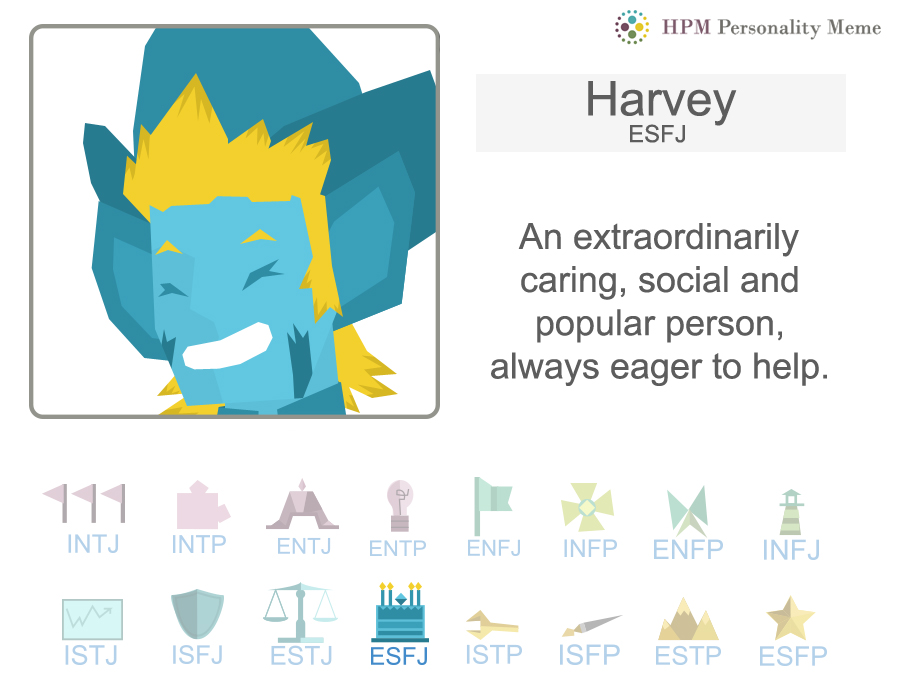 HPM: Harvey's Personality by RockyDee