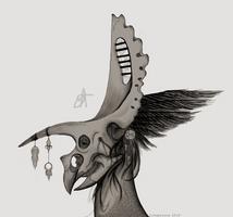 Torosaurus Mask by Likopinina