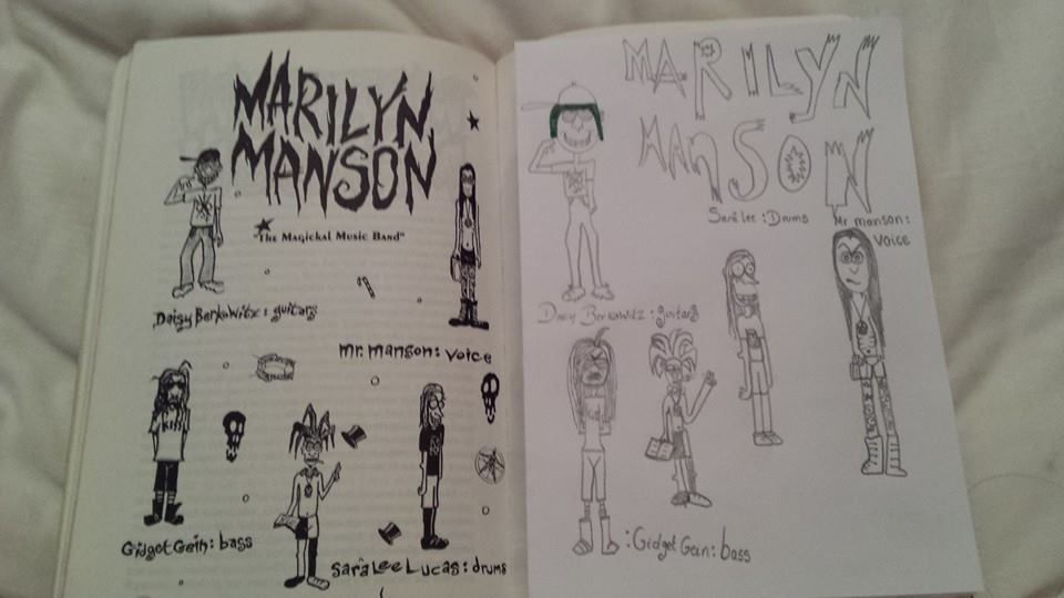 Marilyn Manson and the Spooky Kids by gravityfalls2015 on ...