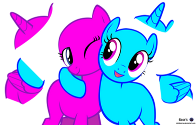 MLP Vector Base - Hug /Free2Use by MLPBlueRay
