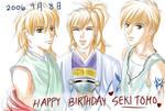+HAPPY BIRTHDAY SEKI TOMOKAZU+