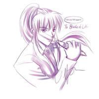 F.Sketch 01- Tokiya Mikagami by Asaphira