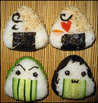 Cooking is so fun XD Onigiri