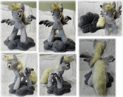 Shocked Derpy Hooves plushie by Rens-twin