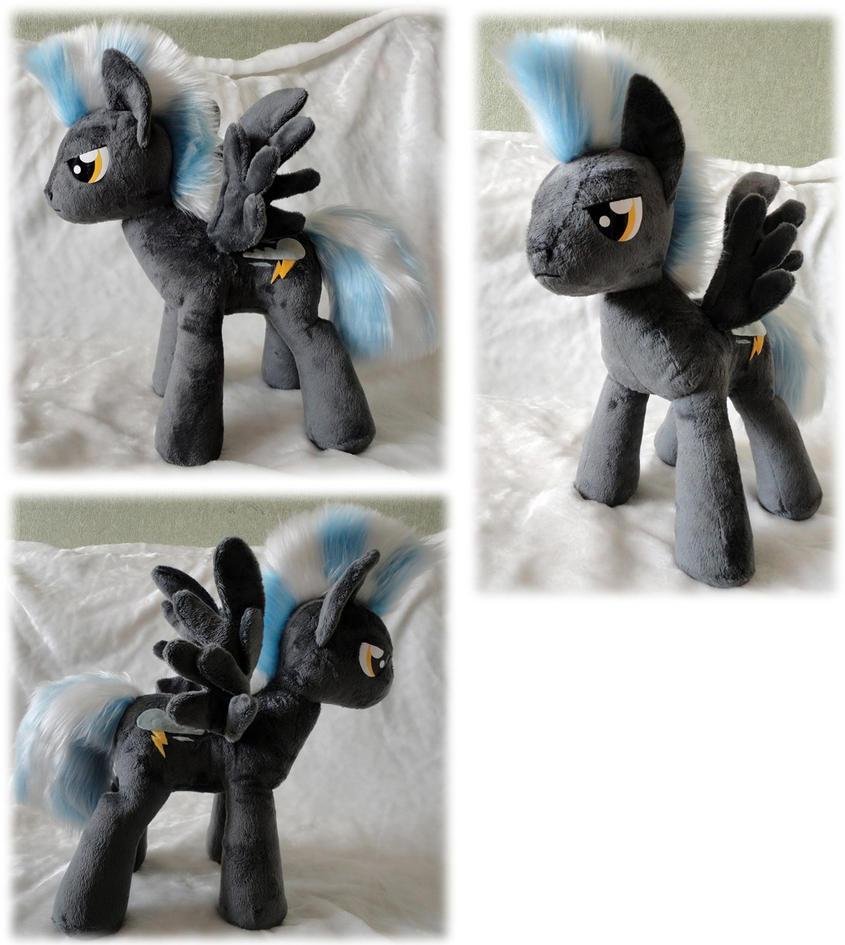 Thunderlane plush by Rens-twin