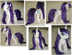 Wet Mane Rarity plush