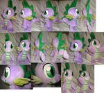 Spike plushie, 13 inch high