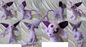 Purple version Espeon