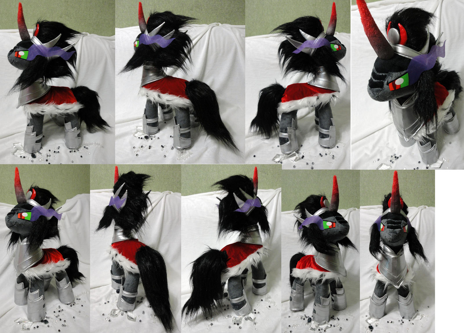 King Sombra plush by Rens-twin