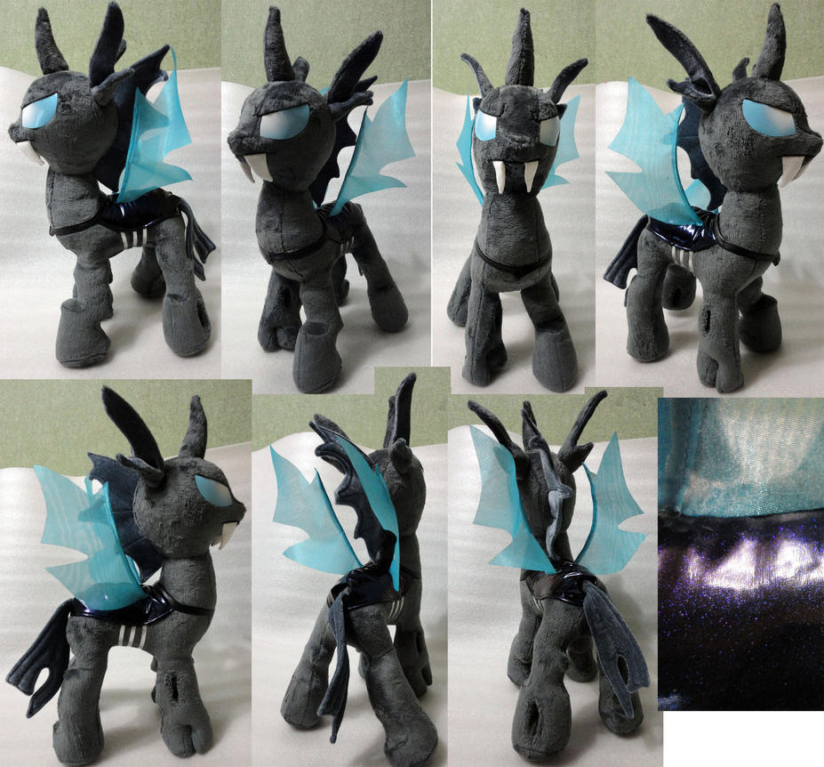 Changeling plushie by Rens-twin
