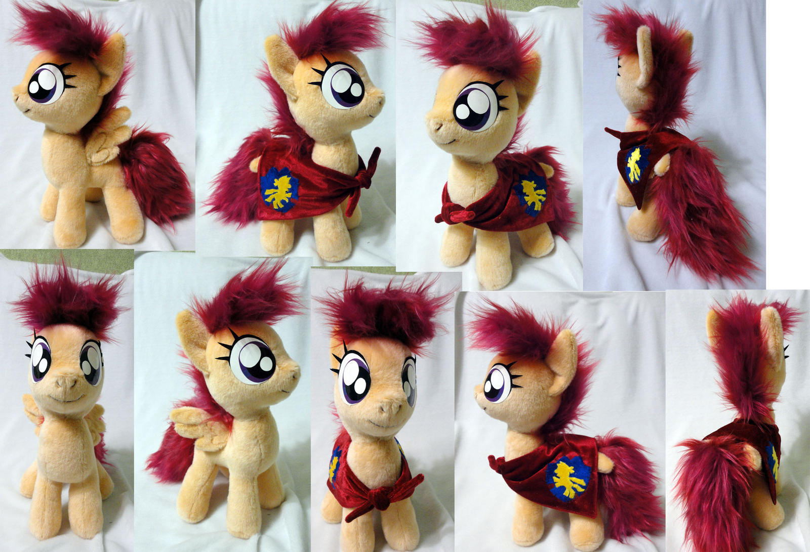 Scootaloo plushie by Rens-twin