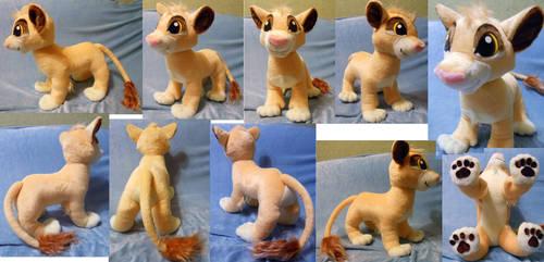 Simba cub (commission)