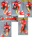 Shiny Red Gyarados (commission + for sale)