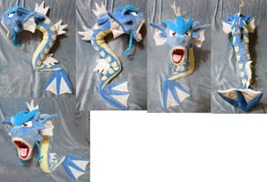Gyarados (commission + for sale) by Rens-twin
