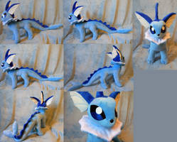 Vaporeon (up for sale) by Rens-twin