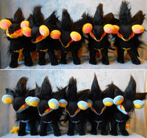 Luxray hordes XD up for sale! by Rens-twin