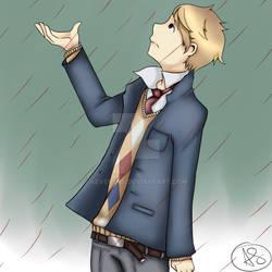 It's raining blood