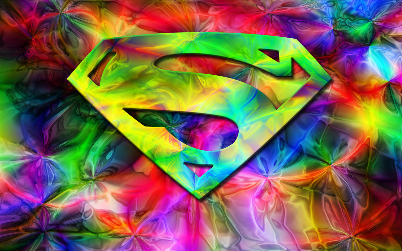 superman in color widescreen by the big al - Picture Color