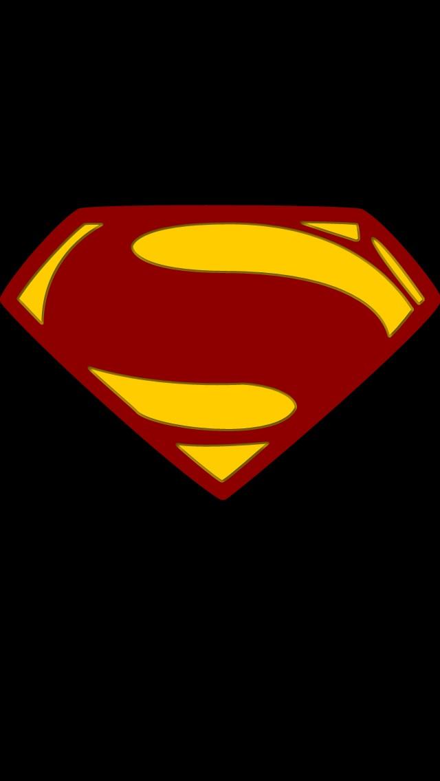 Man Of Steel Logo V1 By The Big Al