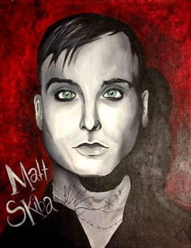 Matt Skiba (signed by Matt Skiba)