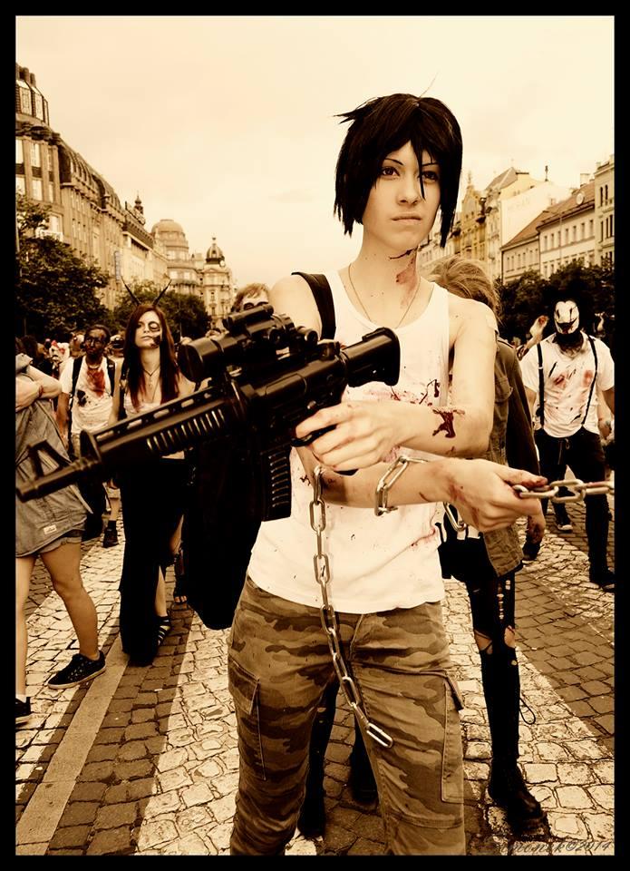 ZombieHunter!Sebastian by LadyNico7