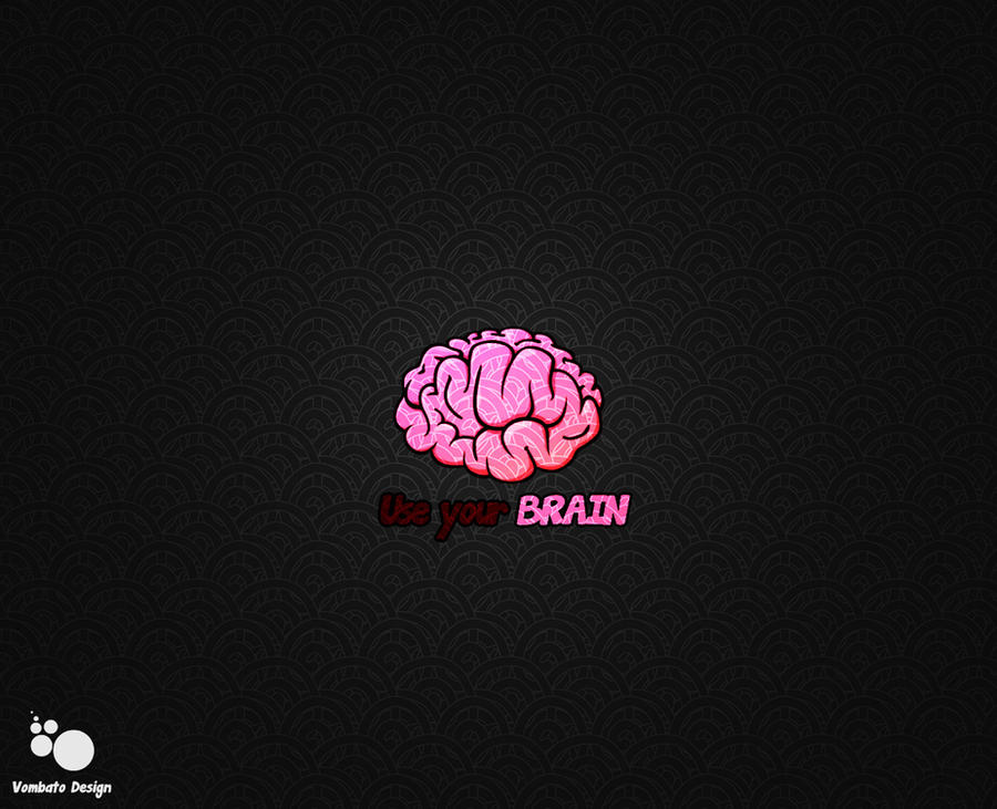 use your brain wallpaper by goldenfe on deviantart