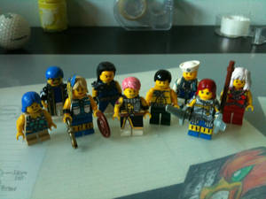 Fairy Tail minifigs
