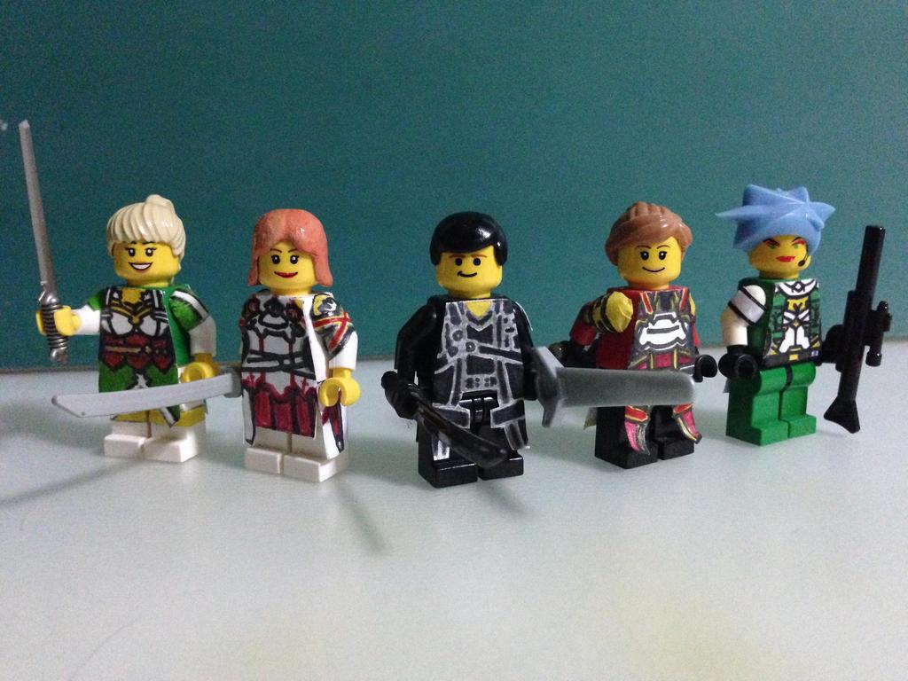Lego minifigure game online