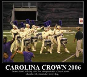 Carolina Motivational Poster by brassdancer